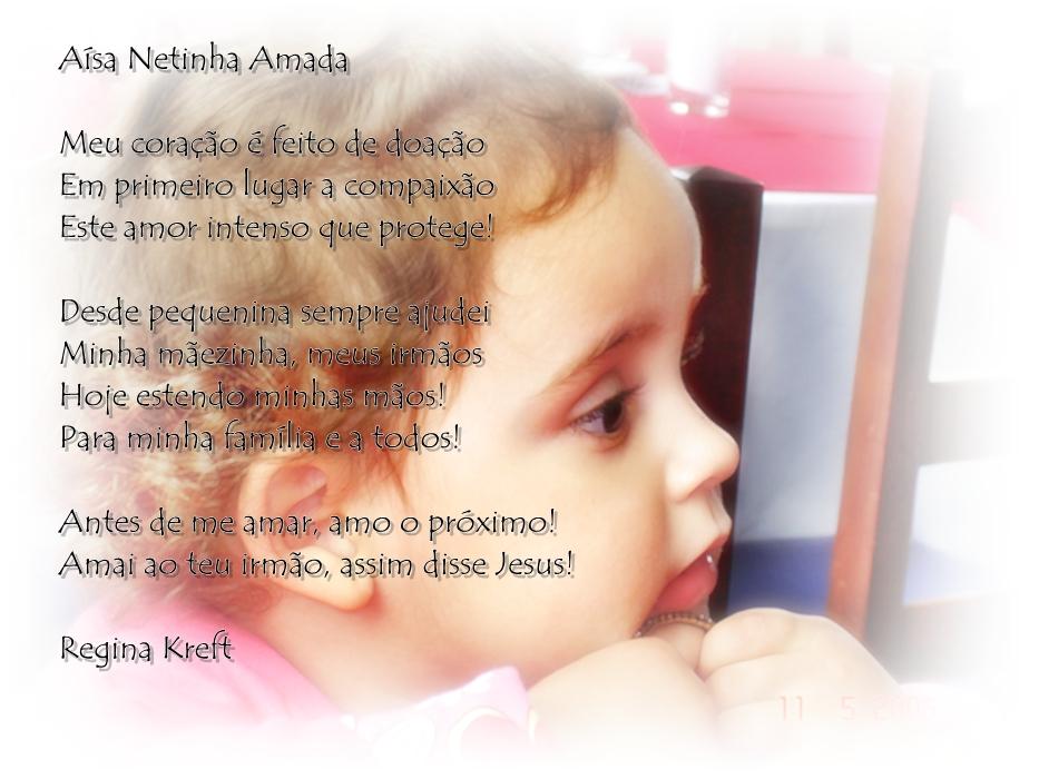 Poema Para Pessoa Amada: Aísa Netinha Amada - Homenagens