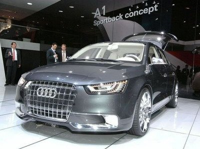 Audi has shown for the first time an interior of hatchback A1