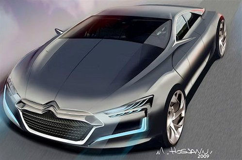 Citroen prepares a luxury sedan