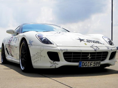 Edo Competition Ferrari 599 GTB: to gangsters it is devoted