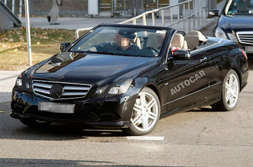 Cabriolet E-Class Coupe has started the final tests