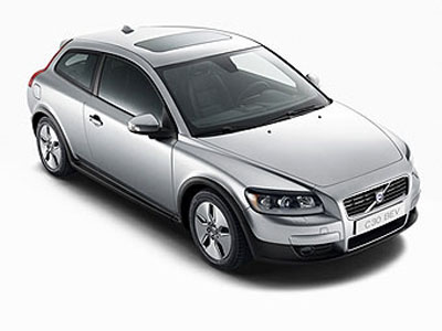 Volvo has presented electrocar on the basis of hatchback С30