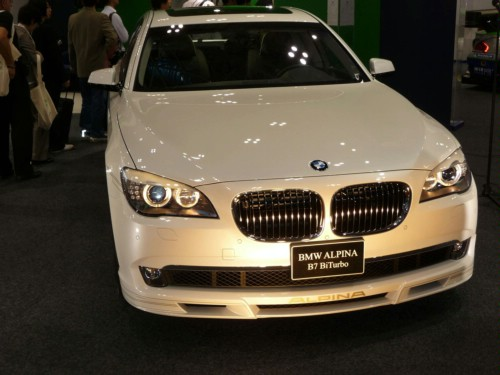 Alpina has transformed a sedan into a sports limousine