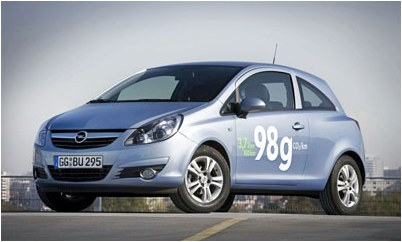 Opel has presented the supereconomic car