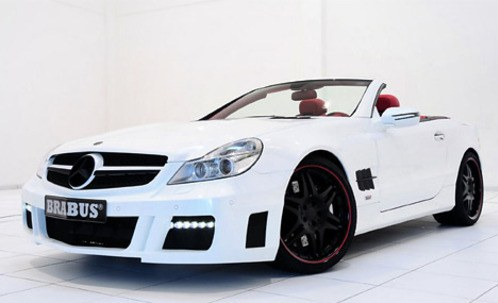 Brabus has presented roadster Mercedes-Benz SL