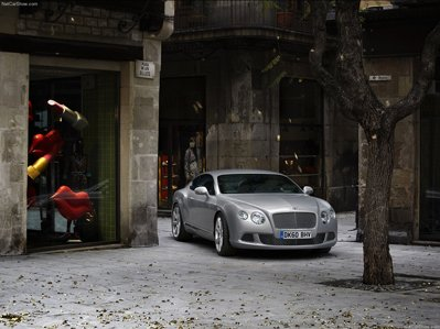 Bentley showed future Continental GT