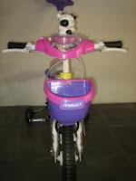 3 Sepeda Anak JEMBOLY Tongkat-Musik 12 Inci