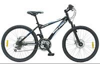 Sepeda Gunung WIMCYCLE DIAMANTE DX 24 Inci