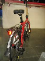 4 Sepeda Lipat FOLD-X TURBO Suspension 20 Inci