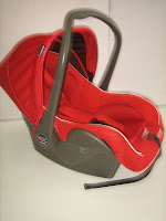 Baby Carrier - Baby Car Seat BabyDoes BD402; Rear-facing Only, New Born-13kg