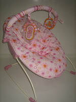 3 Baby Bouncer BRIGHT STARS PRETTY IN PINK