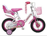 Sepeda Anak WIMCYCLE Mini Strawberry 12 Inci