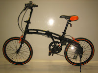 1 Sepeda Lipat DOPPELGANGER 202 BlackMax