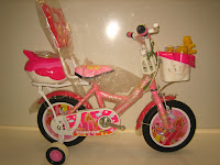 1 Sepeda Anak AXXIL Happy  Sandaran 12 Inci