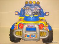 1 Mobil Mainan Aki DOESTOYS TR168 IMPACT RACING - Jumbo Size