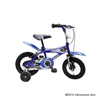 Sepeda Anak WIMCYCLE STREET METAL 12 Inci