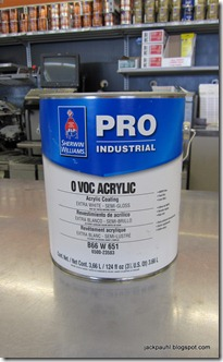 It S Always A Great Thing When Product Makes Its Way Into My Hands Here We Have Sherwin Williams Pro 0 Voc Semi Gloss Acrylic B66 W 65