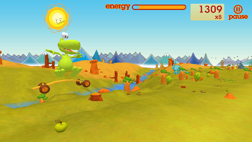Dopey Dinosaur and the Meteors  screenshots 2