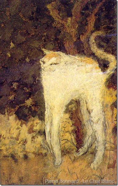 Pierre Bonnard Le Chat Blanc 1894 Poc