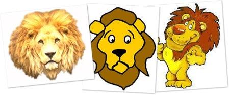 View Lion clipart Z