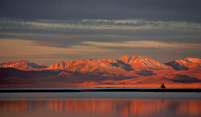 Song kul, Kyrgyzstan - this is firmly inside the snow leopard range