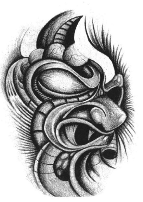Mona Blog Black And Grey Tattoo Designs