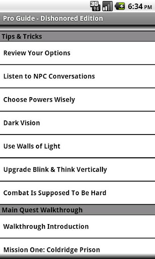 Pro Guide - Dishonored Edition