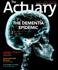 The Dementia Epidemic (The Actuary magazine, Dec 2010)