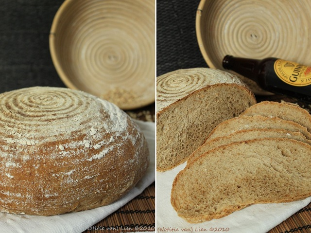 Beer bread with roasted barley (p.141)dubbel