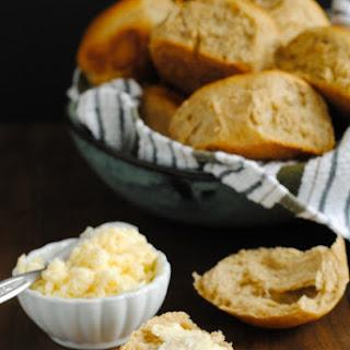 Spiced Sweet Potato Rolls with Bourbon Honey Butter Recipe
