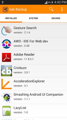 App Backup Share