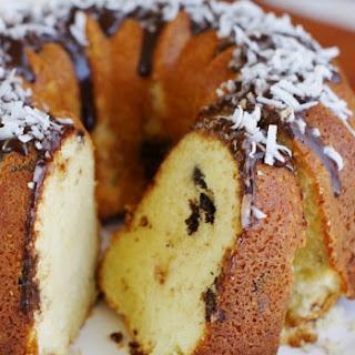 Coconut-Dark Chocolate Pound Cake Recipe