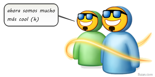Los nuevos emoticones del Windows Live Messenger 2011