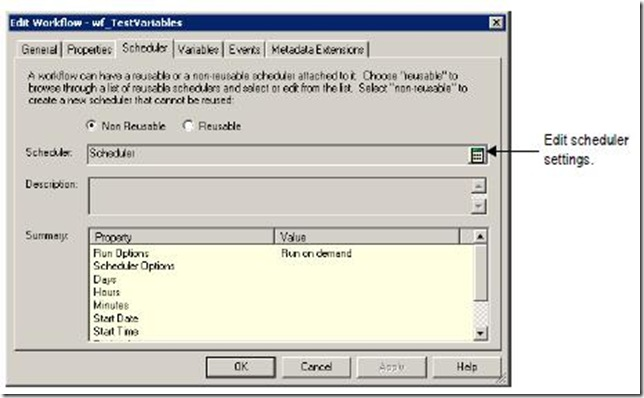 Complete reference to Informatica: SCHEDULERS