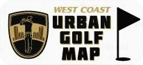 West Coast Urban Golf Map