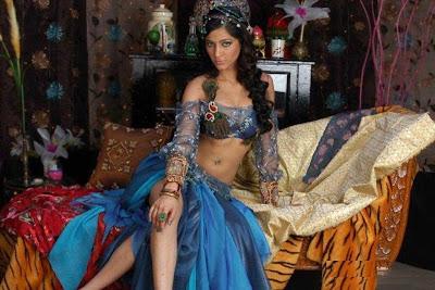 Shruti Hassan blue dress princess