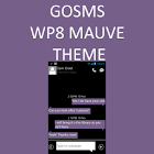GO SMS WP8 Mauve Theme icon