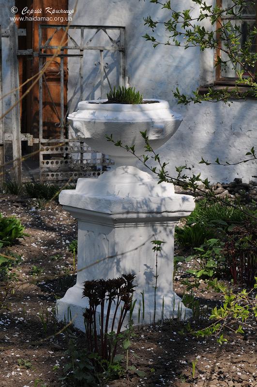 ваза на подвір'ї