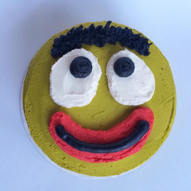 A Brobee Birthday Cake