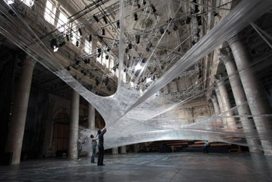 World's Largest Spider Web Ever Spun 07