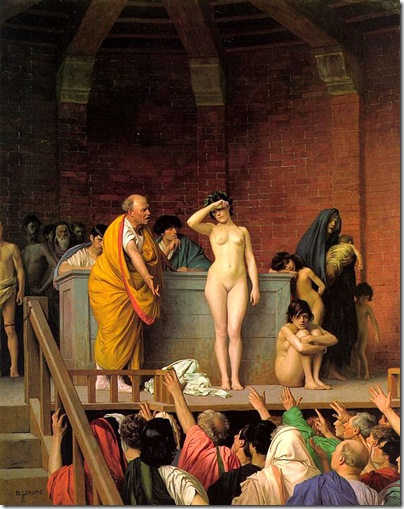 Jean-Leon Gerome - Slave_Auction