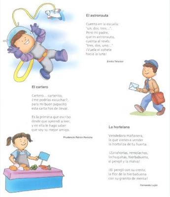 Poemas de profesiones (el arte de enseñar) - Didactalia
