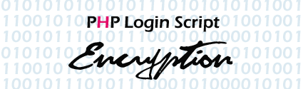 PHP Login Script with Encryption.