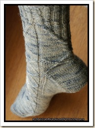 Orzival socks - finished
