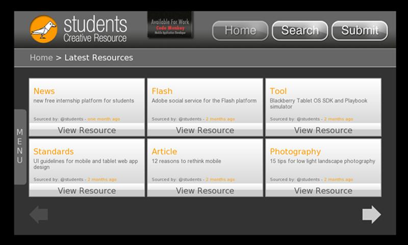 StudentsCR- screenshot