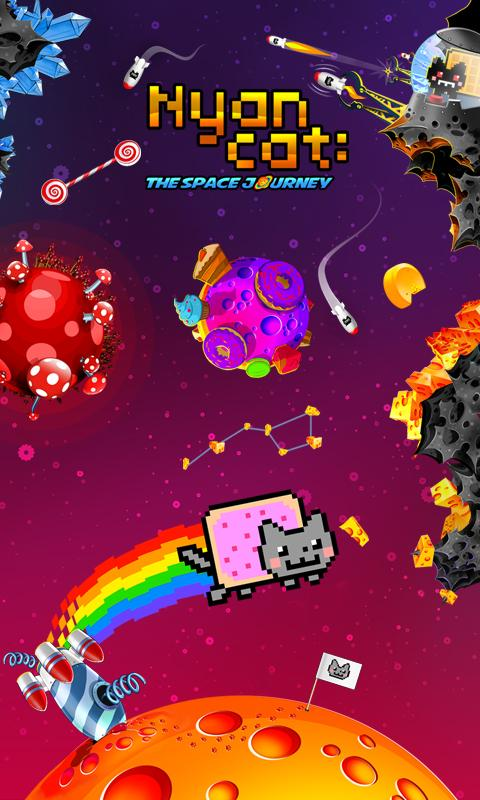 Nyan Cat: The Space Journey- screenshot