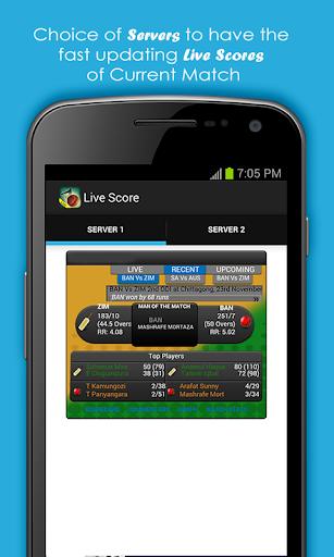 Live Cricket Scores & Schedule 1.6 screenshots 4