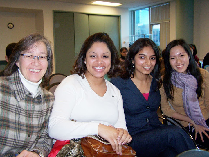 Tanya and team members on Food For the Poor Canada project