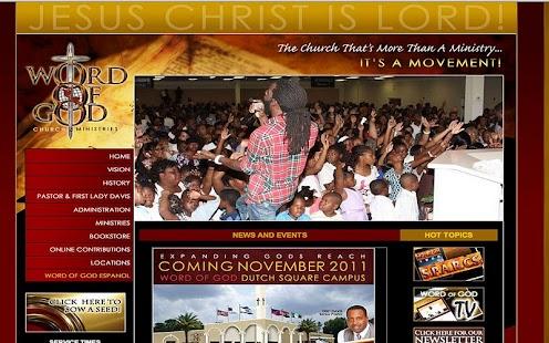 WOGTV - Word of God Ministries - screenshot thumbnail