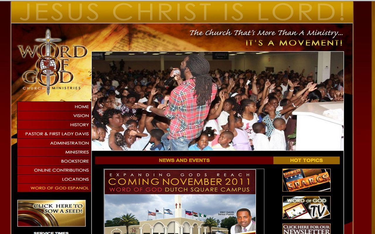 WOGTV - Word of God Ministries - screenshot